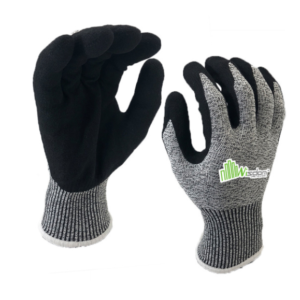 Sandy Nitrile Palm Coated Cut resistant Level-C Gloves WS-129