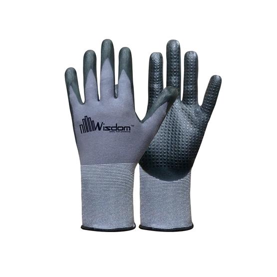 Nitrile & Nitrile dots Coated Gloves WS-404