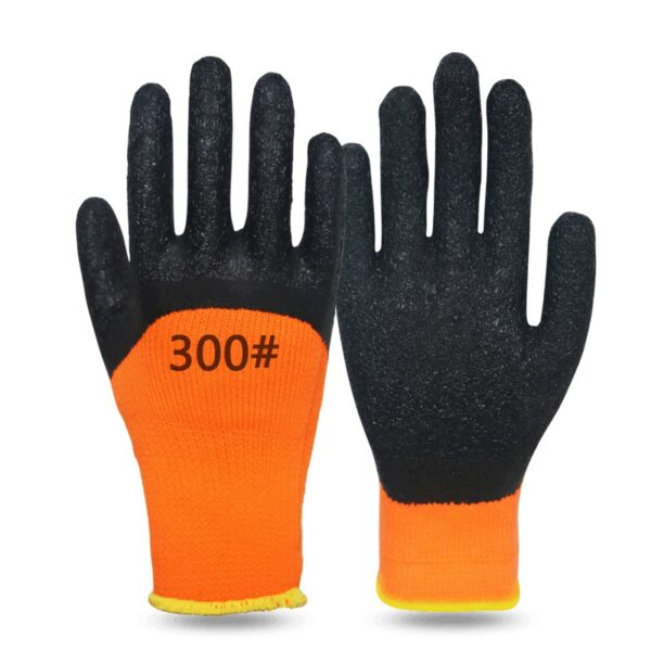 Winter Latex Wrinkle 3/4 Coated Gloves