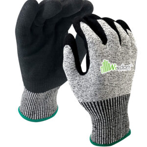 Nitrile Sandy Coated Gloves WS-401
