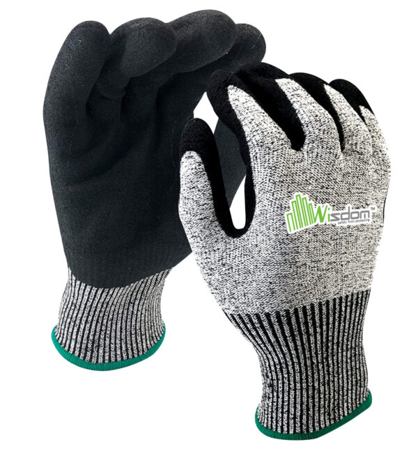 Nitrile Sandy Coated Gloves WS-401
