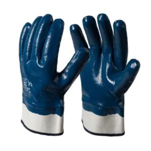 Heavy Duty Nitrile Fully Coated Gloves WS-405