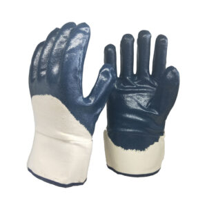 Heavy Duty Nitrile 3/4 Coated Gloves WS-406