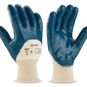 Heavy Duty Nitrile 3/4 Coated Knit Wrist Gloves WS-408