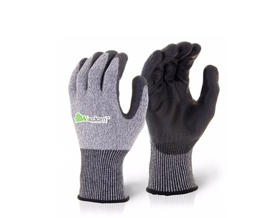 PU Coated Cut Resistant Level-E Gloves WS-106