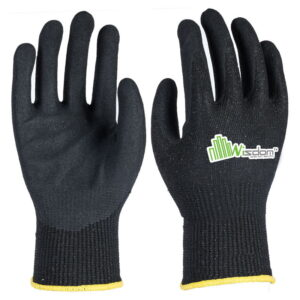 Micro-Foam Nitrile Ccoated Cut Resistant Level-F Gloves WS-121