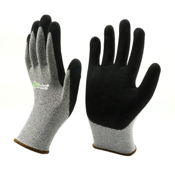 Sandy Latex Coated Cut Resistant Level-E Gloves WS-157