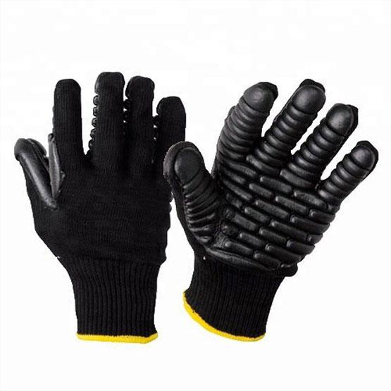 13 Gauge Anti-Vibration&Oil-Resistant Mechanics Gloves