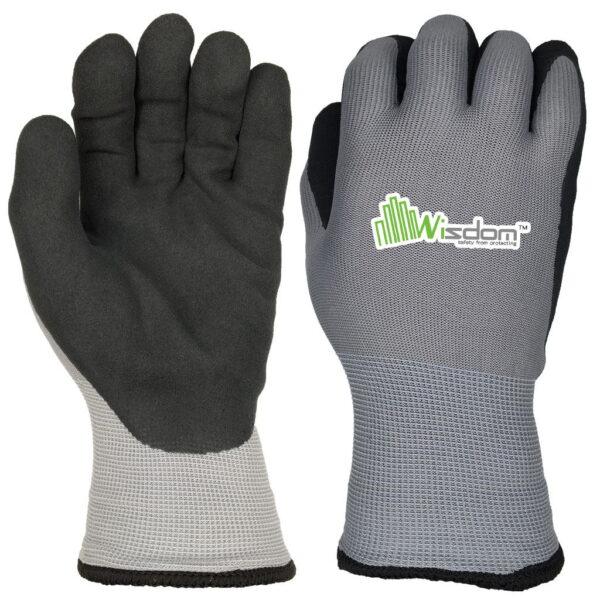 Latex Sandy Finish Gloves WS-301