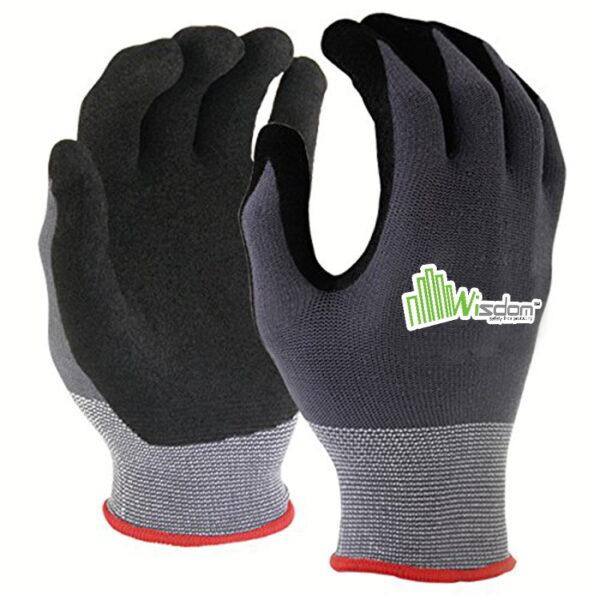 Latex Sandy Finish Gloves WS-302