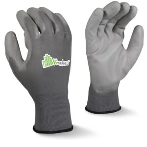 Gray Polyurethane(PU) Coated Gloves WS-502