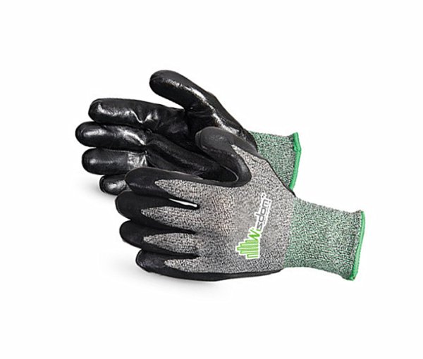 Smooth Nitrile Coated Cut Resistant Level-E Gloves WS-127